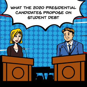 2020 presidential candidates student debt